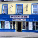 celtic shop front